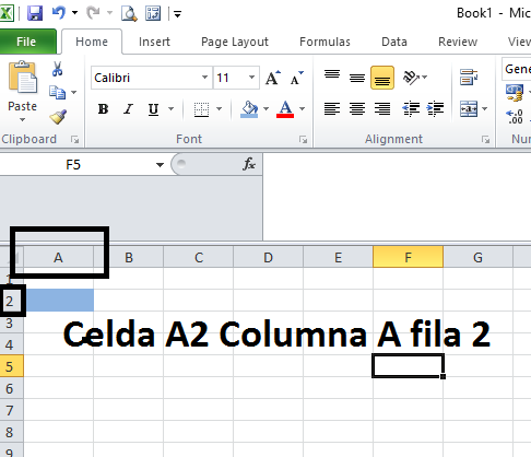 Referencias en Excel. Tipos de referencias.